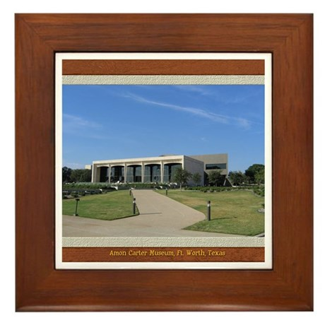 Amon Carter Museum Framed Tile