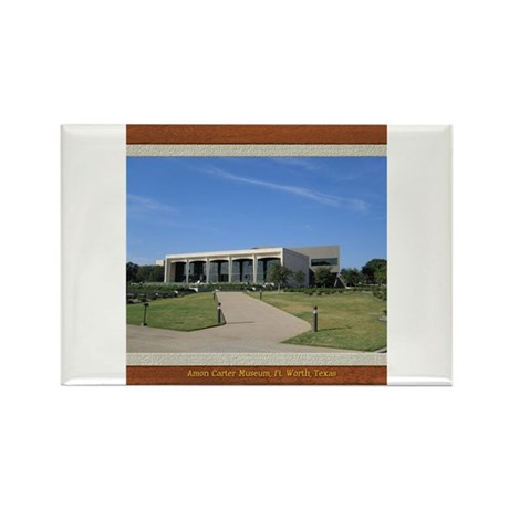 Amon Carter Museum Rectangle Magnet
