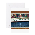 Henderson Street Market Greeting Card