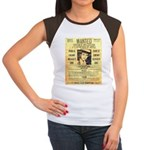 Wanted Creepy Karpis Women's Cap Sleeve T-Shirt