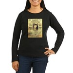 Wanted Creepy Karpis Women's Long Sleeve Dark T-Sh