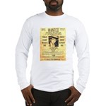 Wanted Creepy Karpis Long Sleeve T-Shirt