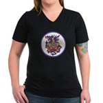 Secret Service OPSEC Women's V-Neck Dark T-Shirt