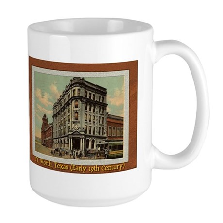 Old Fort Worth Large Mug