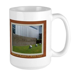 Modern Art Museum Large Mug