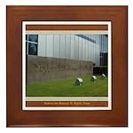 Modern Art Museum Framed Tile