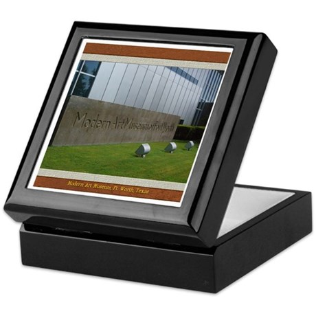 Modern Art Museum Keepsake Box