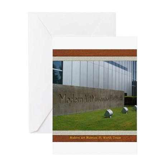 Modern Art Museum Greeting Card