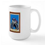 Neon Cowboy Large Mug