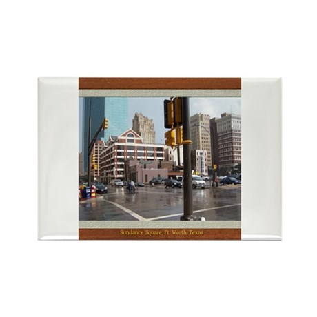 Sundance Square Rectangle Magnet
