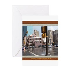 Sundance Square Greeting Card