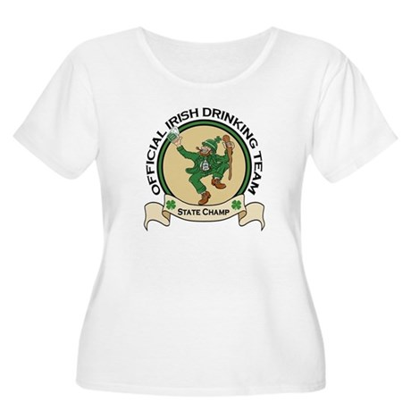 Official Irish Drinking Team Women's Plus Size Sco