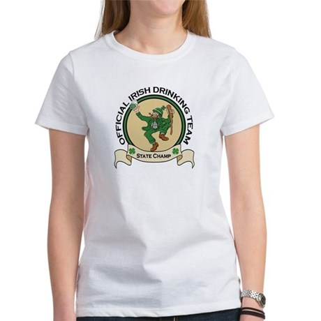 Official Irish Drinking Team Women's T-Shirt