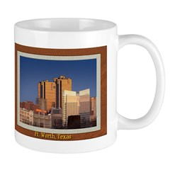 Fort Worth Skyline - Day Mug