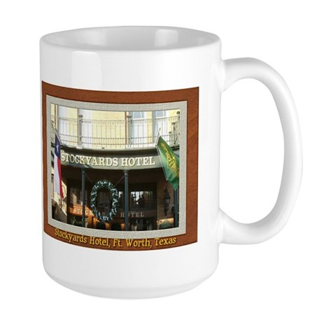 Stockyards Hotel Large Mug