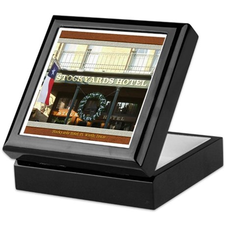 Stockyards Hotel Keepsake Box