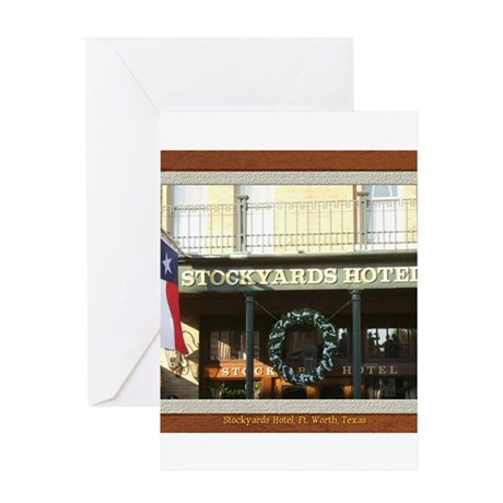 Stockyards Hotel Greeting Card