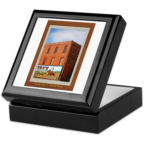 Stockyards #1 Keepsake Box