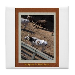 Stockyards #2 Tile Coaster