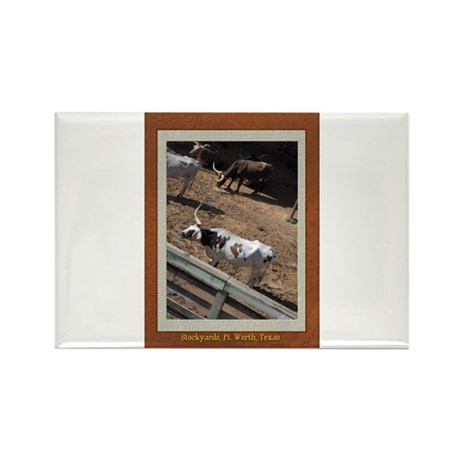 Stockyards #2 Rectangle Magnet