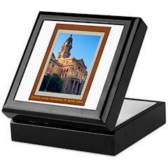 Tarrant County Courthouse Keepsake Box