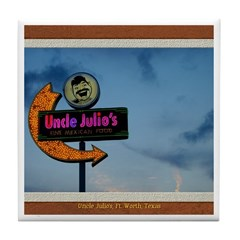 Uncle Julio's Tile Coaster