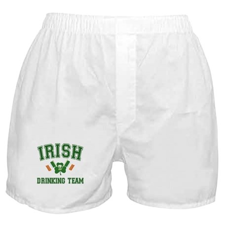 Irish Drinking Team Boxer Shorts