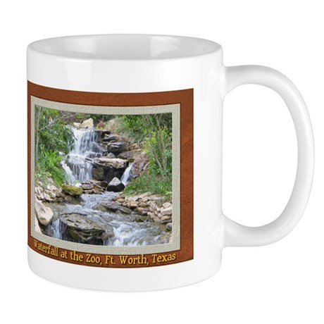 Waterfall at the Zoo Mug       