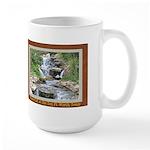 Waterfall at the Zoo Large Mug