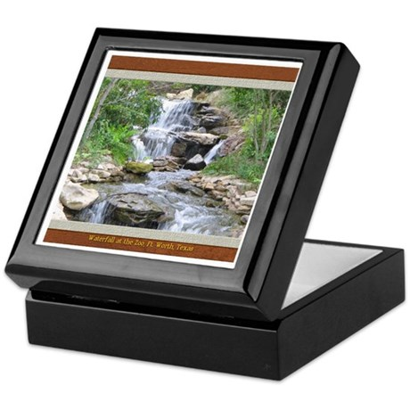 Waterfall at the Zoo Keepsake Box