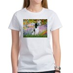 Monet's garden & Springer Women's T-Shirt