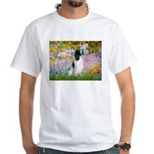 Monet's garden & Springer Shirt