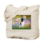 Monet's garden & Springer Tote Bag