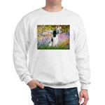 Monet's garden & Springer Sweatshirt