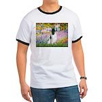 Monet's garden & Springer Ringer T