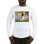 Monet's garden & Springer Long Sleeve T-Shirt