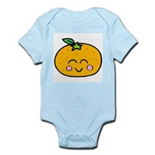 Cute Smiling Peach Tshirts and Gifts Infant Bodysu