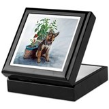 Rudy, German Shepherd Puppy Keepsake Box