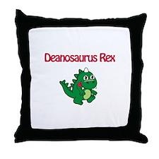 Deanosaurus Rex Throw Pillow