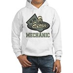 Mechanic Auto Service Hooded Sweatshirt