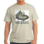 Mechanic Auto Service Ash Grey T-Shirt