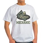 Mechanic Auto Service Ash Grey T-Shirt