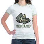 Mechanic Auto Service Jr. Ringer T-Shirt