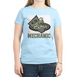 Mechanic Auto Service Women's Pink T-Shirt