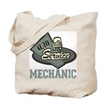 Mechanic Auto Service Tote Bag
