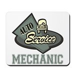 Mechanic Auto Service Mousepad