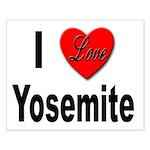 I Love Yosemite Small Poster