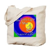 """This Little Light of Mine"" Tote Bag"