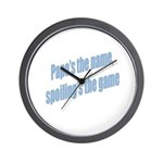 Papa's the name Wall Clock