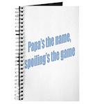 Papa's the name Journal